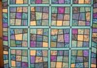 Interesting although this is a quilt the pattern lends itself to be a 9 Stylish Magic Tiles Quilt Pattern