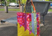 Interesting angle tote bag pattern 9 Cozy Quilted Tote Bag Patterns Gallery