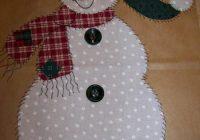 Interesting applique patterns snowman angel and christmas 10 Unique Snowman Quilt Patterns Applique