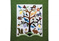Interesting applique tree of life quilt terrific made with care amish 10 Unique Tree Of Life Quilt Pattern Applique Gallery