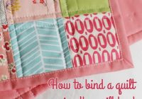 Interesting binding a quilt with the quilt back cluck cluck sew 10 Beautiful Sewing Binding On Quilt Corners