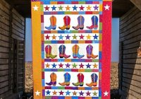 Interesting boot n skoot printed quilt pattern quilt patterns cowboy boot quilt cowboys applique quilts happy quilts kids quilts 9 Cozy Cowboy Boots Quilt Pattern