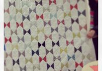 Interesting bow tie quilt quilts 10 Elegant Bow Tie Quilt Pattern Layouts Gallery