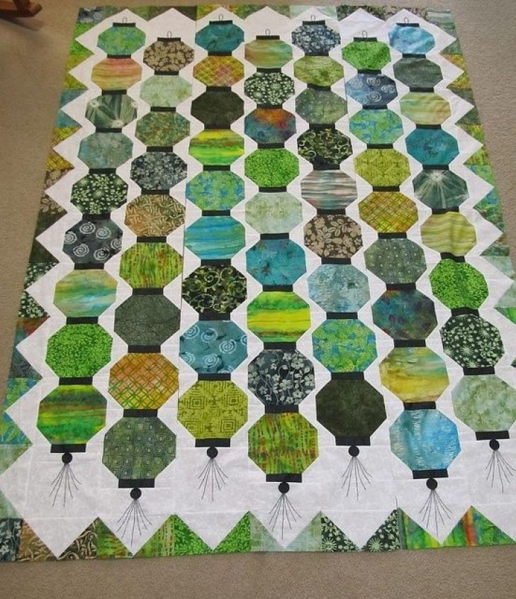 Permalink to 11 Stylish Chinese Lantern Quilt Pattern Inspirations