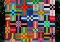 Interesting colors quilt pattern 10 Modern Colorful Quilt Patterns Inspirations