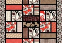 Interesting denovo quilt pattern reminds me of a simplified turning New Big Quilt Block Patterns Inspirations