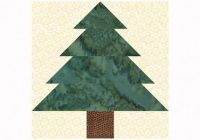 Interesting easy patchwork christmas tree quilt block pattern 11 Unique Tree Quilt Block Pattern