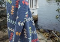 Interesting every which way flying geese quilt 11 Modern Flying Geese Quilt Pattern History