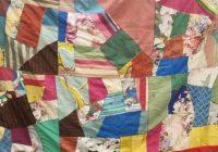 Interesting fantastic vintage crazy quilt handmade Modern Vintage Crazy Quilt Inspirations