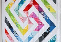 Interesting feb 18th modern quilting half square triangles day niche 10 Beautiful Half Triangle Quilt Inspirations