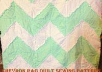 Interesting free chevron rag quilt pattern with bonus car seat tent 9 Cool Chevron Rag Quilt Pattern Inspirations