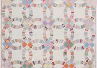 Interesting free double wedding ring quilt pattern quilting daily 11   Wedding Quilt Patterns