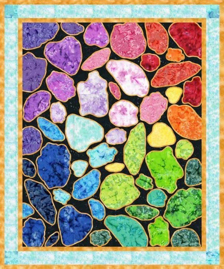Permalink to 10 Interesting Gemstomes Quilt Pattern Free
