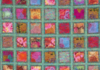 Interesting free pattern jewel frames quilt kaffe fassett and liza 10 Cool Kaffe Fassett Quilt Patterns