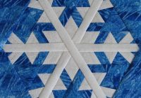 Interesting free quilt pattern snowflake 7 snowflake quilt paper 11 Cozy Snowflake Quilting Pattern Gallery