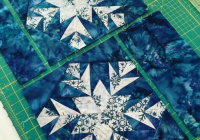 Interesting free quilt pattern snowflake i sew free snowflake quilt 11 Beautiful Snowflake Quilt Block Pattern