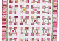 Interesting free scrap quilt patterns quilting daily Beautiful Free To Download Easy Scrap Quilt Patterns Gallery