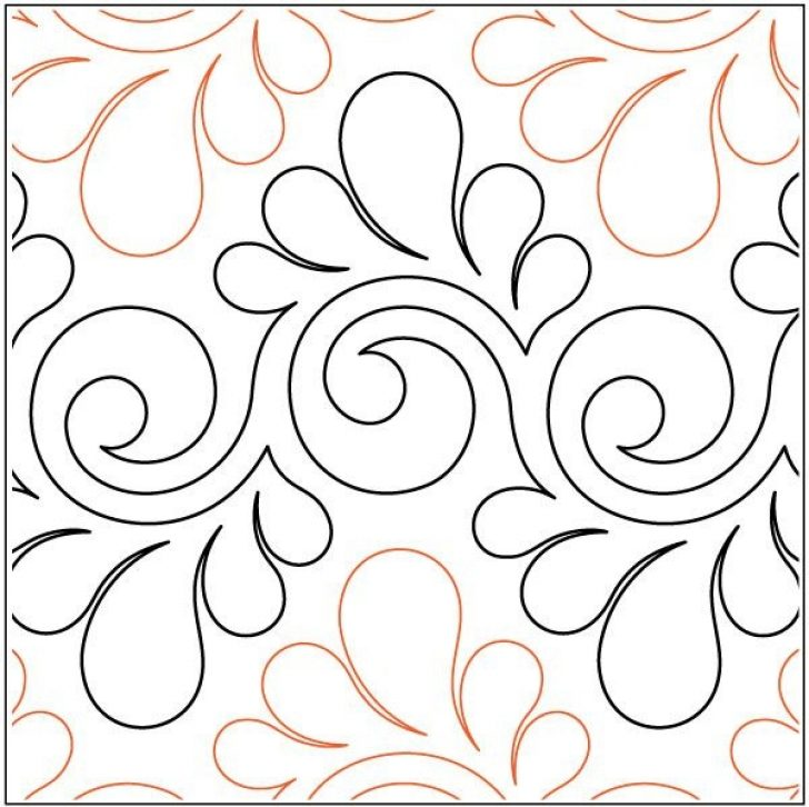 Permalink to 9 Elegant Pantograph Quilting Patterns