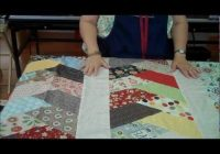 Interesting friendship braid quilt idea using half hex ruler youtube 9 Stylish Friendship Braid Quilt