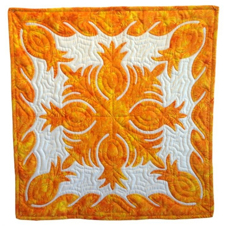 Permalink to 11 New Hawaiian Applique Quilt Patterns