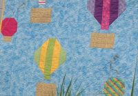 Interesting head in the clouds 11   Hot Air Balloon Quilt Pattern