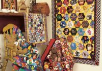 Interesting hexagon quilts at from marti featuring quilting with the 9   I Spy Quilt Pattern Hexagon Inspirations