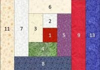 Interesting how to construct a log cabin quilt block 11 Cozy Quilting Log Cabin Pattern