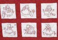 Interesting jack dempsey needle art sunbonnet girls nursery quilt blocks 9 Elegant Jack Dempsey Quilt Blocks Gallery