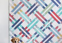Interesting jelly weave quilt pattern 11 Beautiful Quilt Patterns From Jelly Rolls