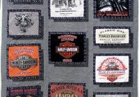 Interesting joannes harley davidson t shirt quilt quilted joy 10 Elegant Harley Davidson Quilt Patterns Inspirations
