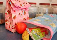 Interesting lunch bags you can sew 33 easy tutorials for cute eco 11 New Quilted Lunch Bag Pattern Inspirations