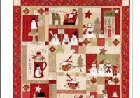 Interesting merry merry snowman quilt pattern from bunny hill 11 Stylish Snowman Quilt Pictures
