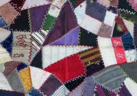 Interesting modern crazy patch project 9 Elegant Crazy Patch Quilt Pattern