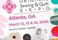Interesting original sewing quilt expo atlanta fit for art patterns 10 Modern Sewing & Quilt Expo