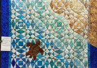 Interesting peace river quilt show weekend ocean quilt beach Cool Beach Themed Quilt Patterns