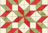 Interesting pin joy rudeau on christmas half square triangle quilts 9 Interesting Free Half Square Triangle Quilt Patterns