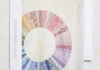 Interesting pin on color Color Wheel Quilt Pattern