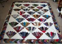 Interesting pin on traditional quilt ideas 11 Elegant Necktie Quilt Ideas Inspirations