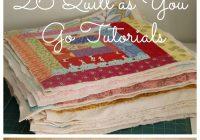 Interesting quilt as you go tutorials qayg video and 26 quilt tutorials Interesting Quilt As You Go Quilt Patterns