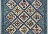 Interesting quilts joyce hite 10 Beautiful Rose Of Sharon Quilt Pattern Inspirations