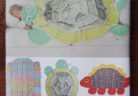 Interesting rag quilt sewing pattern dinosaur turtle caterpillar simplicity 2493 longia miller design kids blanket cotton flannel fleece uncut 9 Cool Turtle Rag Quilt Pattern Inspirations