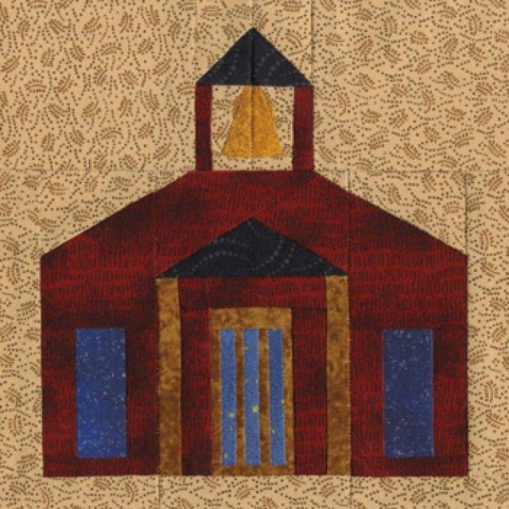 Permalink to 11 Elegant Schoolhouse Quilt Block Pattern Gallery