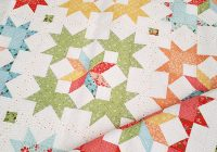 Interesting starlight fat quarter quilt pattern quilting a quilting life New Fat Quarter Quilt Patterns
