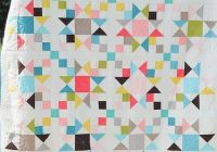 Interesting stars and 4 patches quilts vintage modern quilts modern Modern Vintage Modern Quilts Inspirations