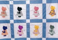 Interesting sunbonnet sue quilt free quilt patterns Cozy Sunbonnet Sue Quilt Patterns Inspirations