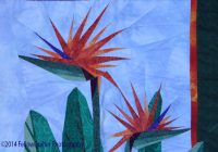 Interesting the edge of paradise fellow quilter Modern Bird Of Paradise Quilt Pattern Inspirations