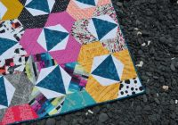 Interesting trillium hexagon quilt pattern is here color girl quilts 11 Modern Modern Hexagon Quilt Patterns Inspirations