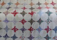 Interesting vintage antique handmade quilt 1930s periwinkle star 11 Unique Vintage Quilts On Ebay Gallery