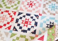 Interesting vintage charm fat eighth quilt a quilting life 9 Modern Quilt Patterns Using Fat Eighths