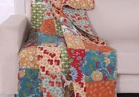 Interesting vintage country floral bedding patchwork pattern flowers Beautiful Vintage Floral Quilted Throw Inspirations